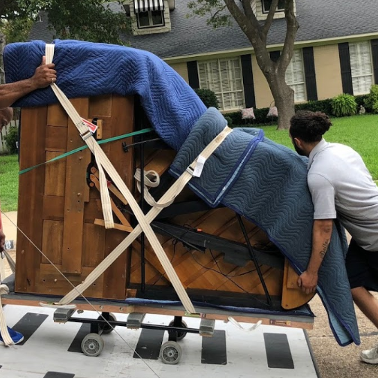 moving a piano in dallas texas